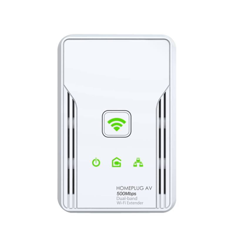 hl117ew 500mbps homeplug av 300mbps wifi extender dualband. Black Bedroom Furniture Sets. Home Design Ideas